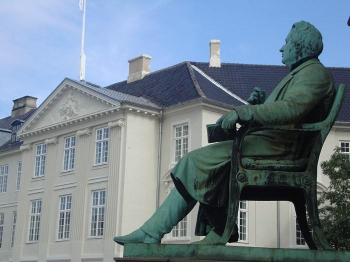 statua copenaghen
