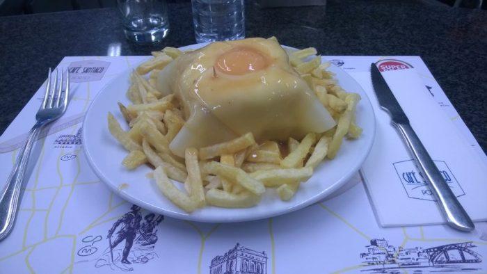 Francesinha-Café Santiago