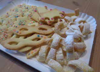 Biscotti a forma di stelle filanti - idee per Carnevale