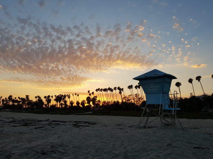 Dove vedere il tramonto a Santa Barbara - East Beach2