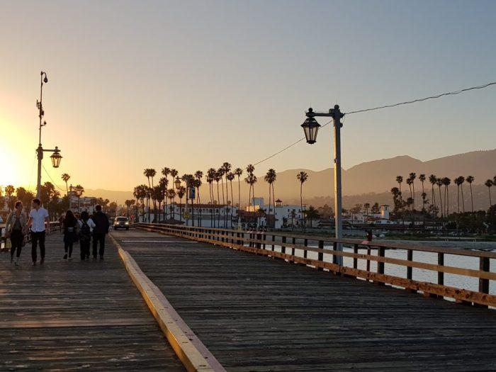 Dove vedere il tramonto a Santa Barbara - Stearns Wharf