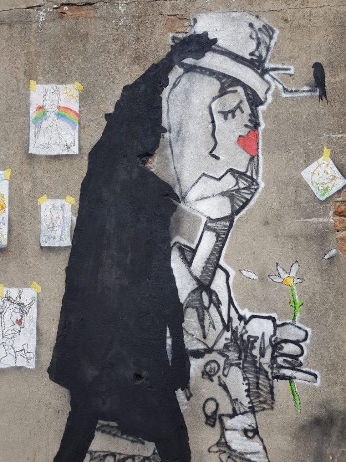 Ritratto Padova a caccia di Street Art
