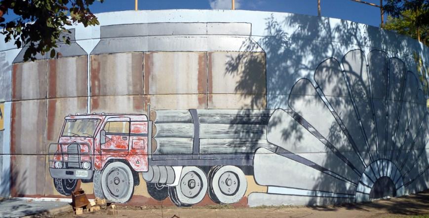 Mural-Truck