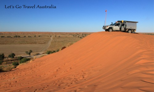 Big Red Simpson Desert, Q