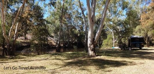 Bingara Camping area 1