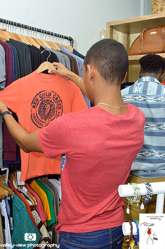 Shopping at Blue Basin