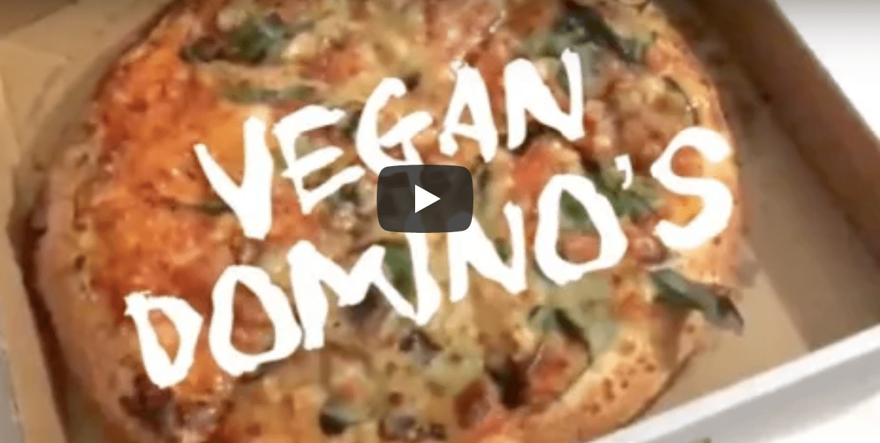 Dominos Vegan Cheese introduction to Australia & reviews
