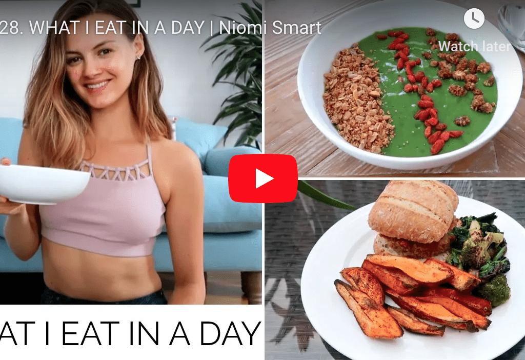 What I eat in a day - Naomi Smart