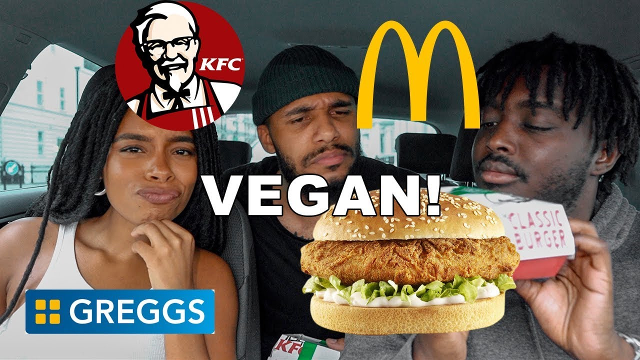 Want to see what Vegan fast food in the UK is like?
