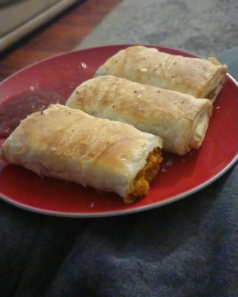 Pumpkin Pie Sausage Rolls