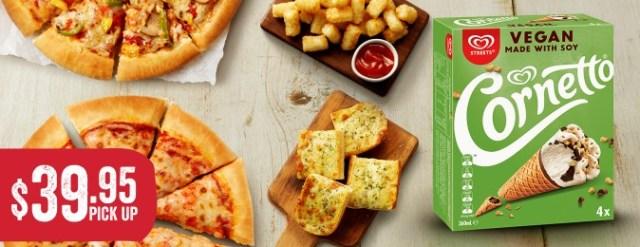 Pizza Hut add Vegan to the menu
