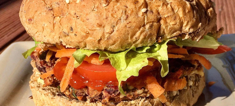 Red Kidney Bean Hemp Burgers