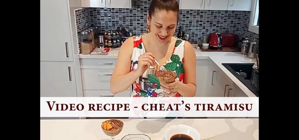 The Vegan Italian Kitchen's Tiramisu