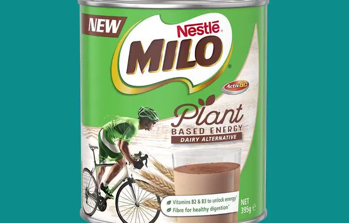 Vegan Milo has arrived down under