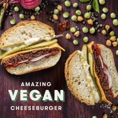 Grill'd Vegan Cheeseburger