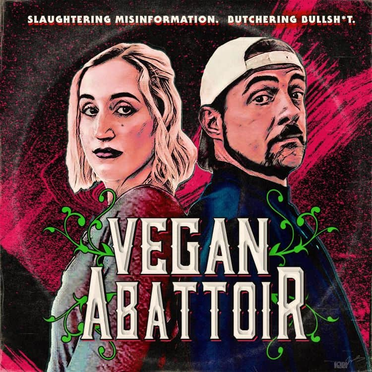 Kevin Smith & Harley Quinn launch vegan podcast