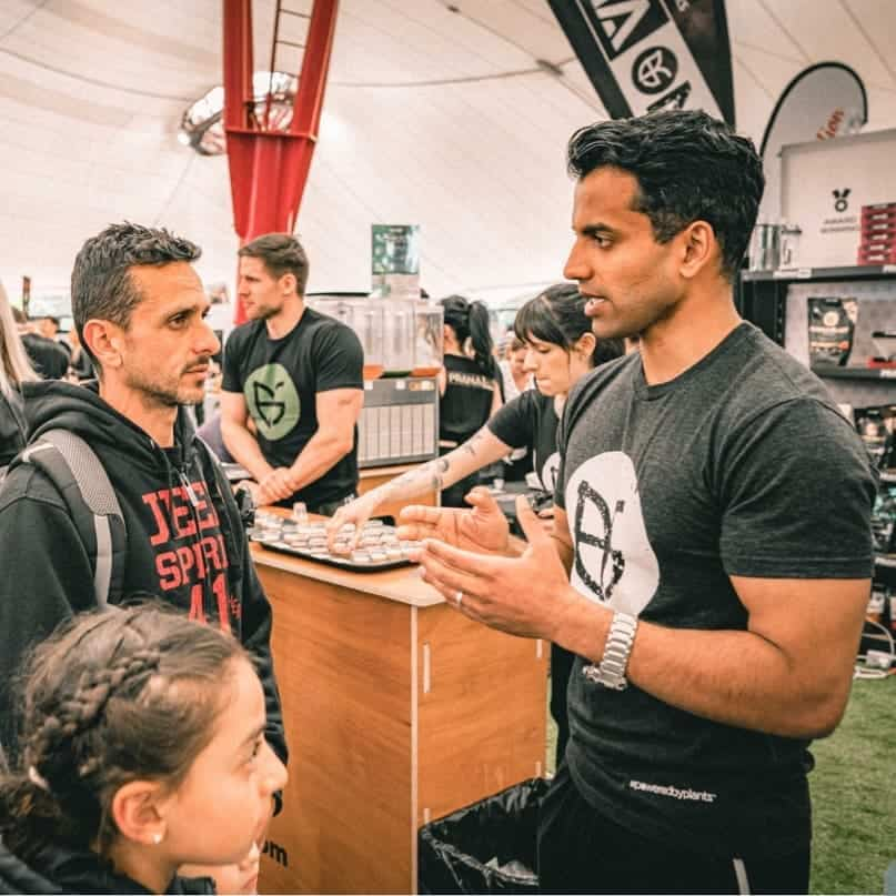 10 Quick Questions with fitness expert Sam Vas