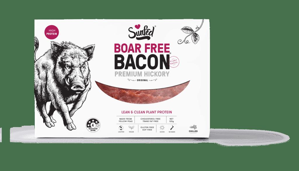 Sunfed launch vegan bacon