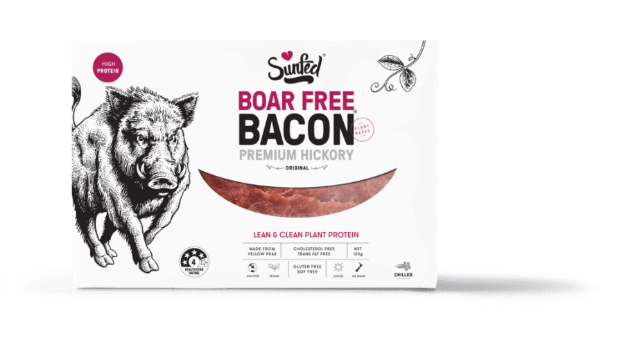 Sunfed launch vegan bacon