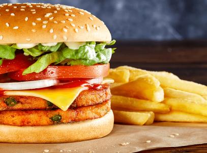 Hungry Jacks Vegan Burger