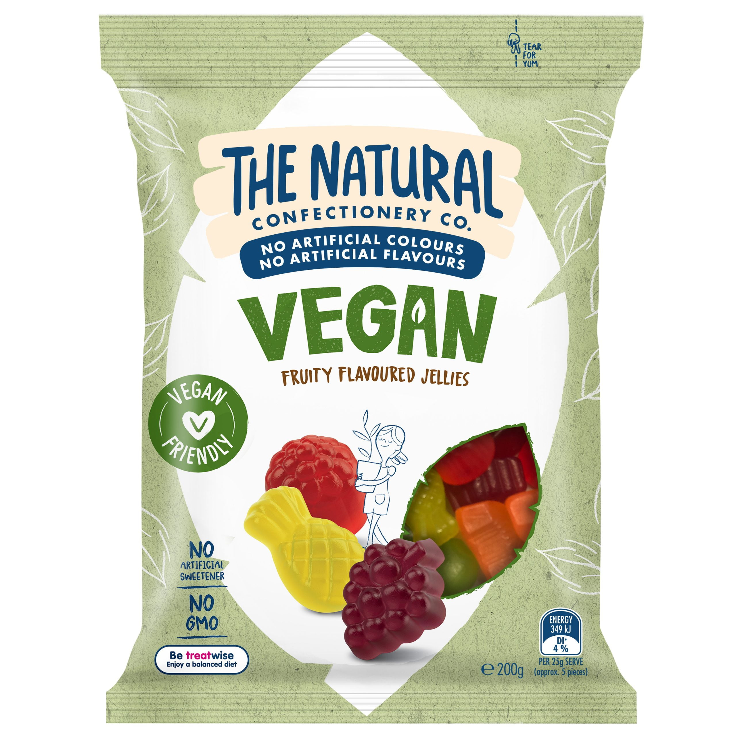 Natural Confectionery Co launches vegan range