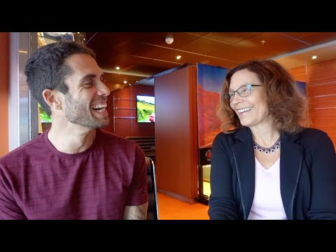 James Aspey chats with Dietician Brenda Davis R.D