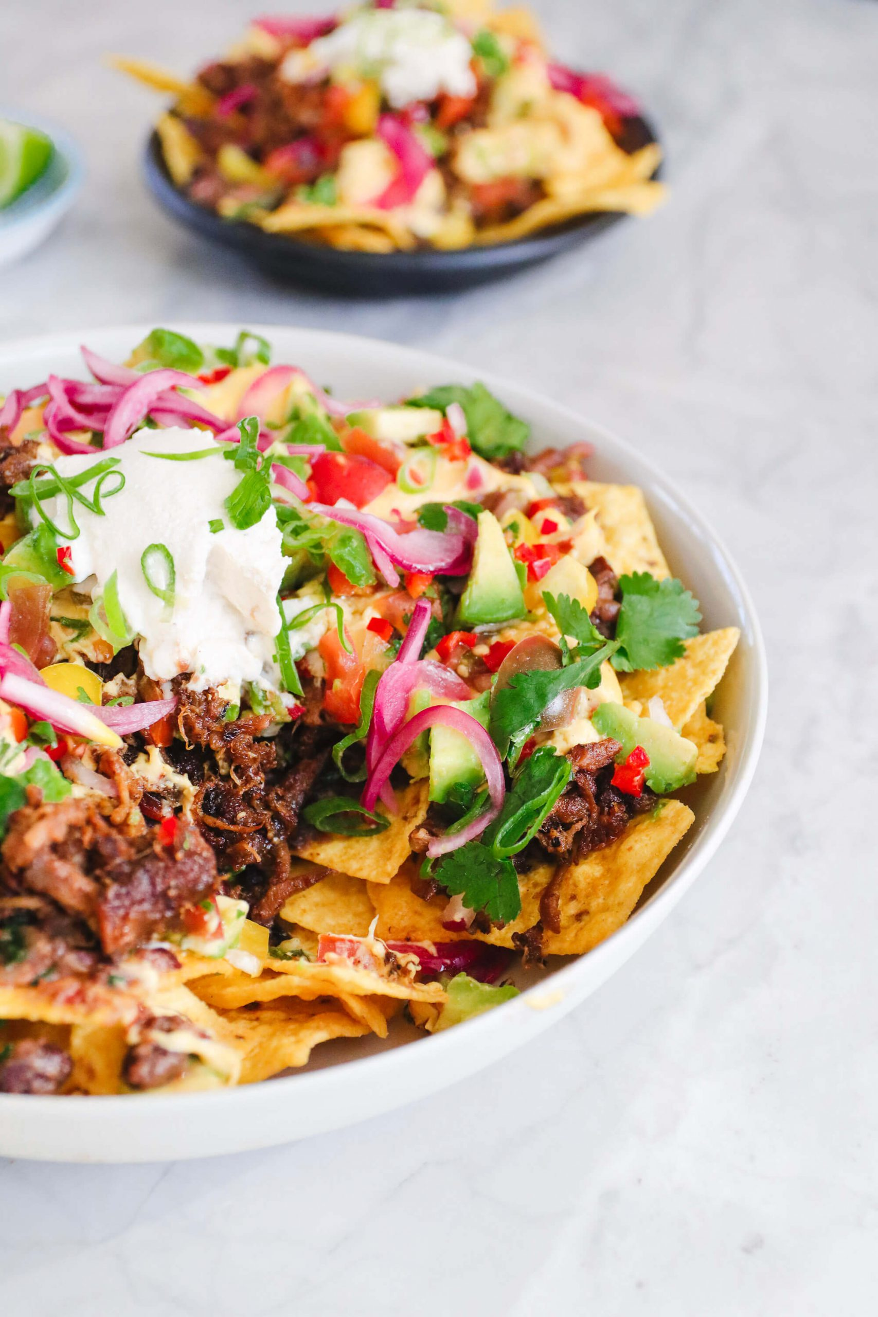 Fable Nachos with 'Not-cho' Cheese Sauce