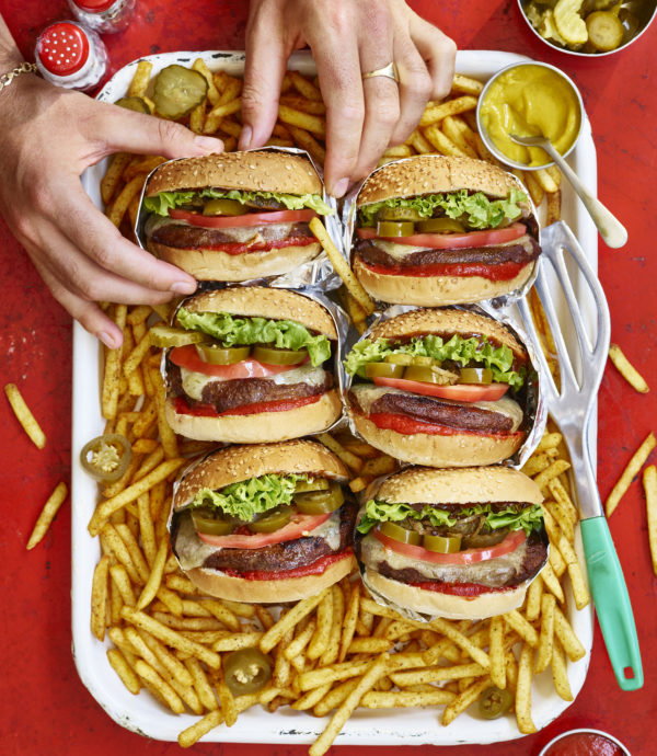 Want to recreate In & Out Burger...Vegan?