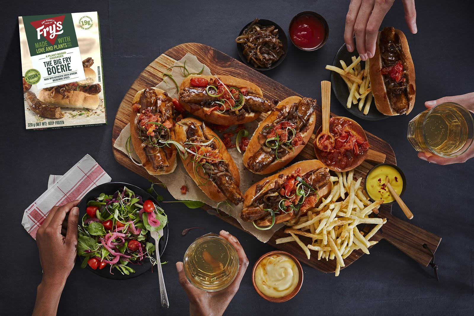 Five New Plant-Based Products Are Launching in Australia from Fry's Family Food