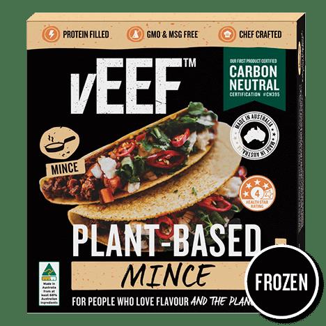 Veef's carbon neutral mince