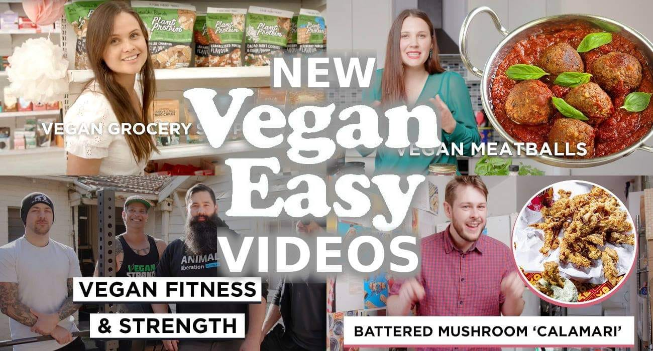 The best videos from this years Vegan Easy Campaign