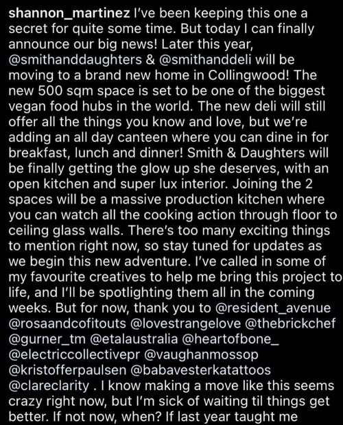 Smith & Daughters is expanding!