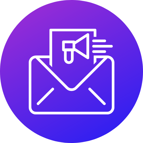 Email Marketing & Automation Icon