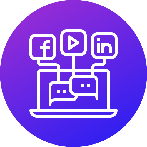 Social & Display Ads Icon