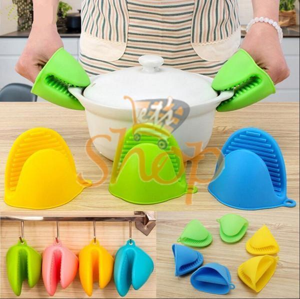 Pair Silicone Gloves