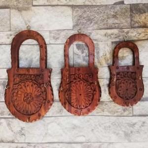 Wooden Lock Hanger