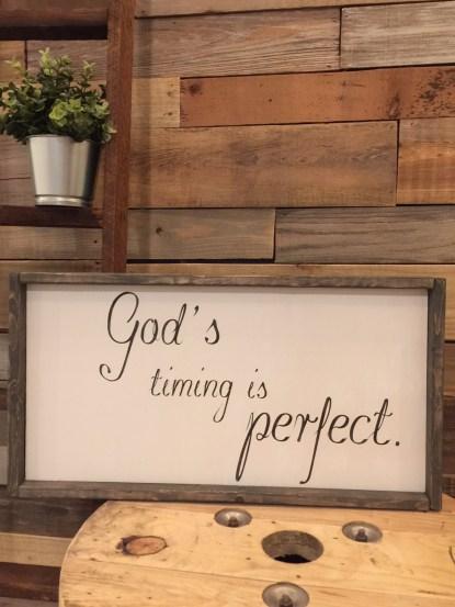 Godstimingisperfect