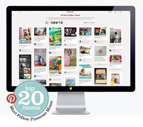 Top 20 Moms | Must-Follow Pinterest Parents