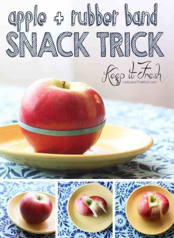 {Keep Apples Fresh} *Stop apples from going brown + 20 additional on-the-go snack ideas