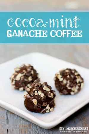 Must-Try Cocoa-Mint Ganache Coffee *So making this...