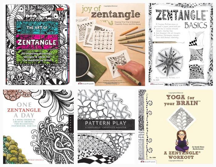 Zentangle Art: Easy Aluminum Foil Kids Project *saving this book list for later