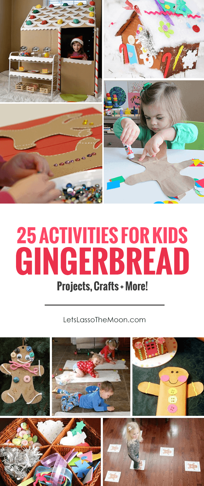 25 Gingerbread Activities for Kids: Sweet + Playful Ideas for Children *love this list of projects