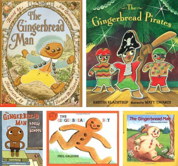 Educational Gingerbread Activities for Kids + Book Recommendations