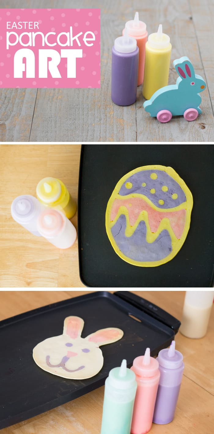 Easter Pancake Art: Spring Family Traditions *Love these video tutorials. The egg is so simple even I can do that!