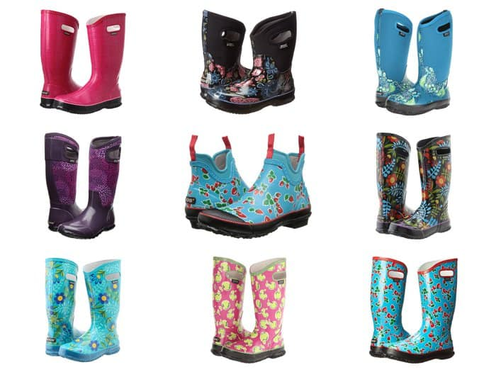 Adorable rain boots from Bogs. This whole collection is just awesome.