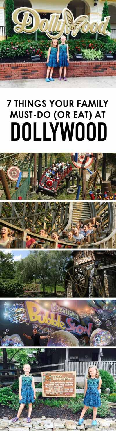 7 Must-Do Things to Do (or Eat) at Dollywood