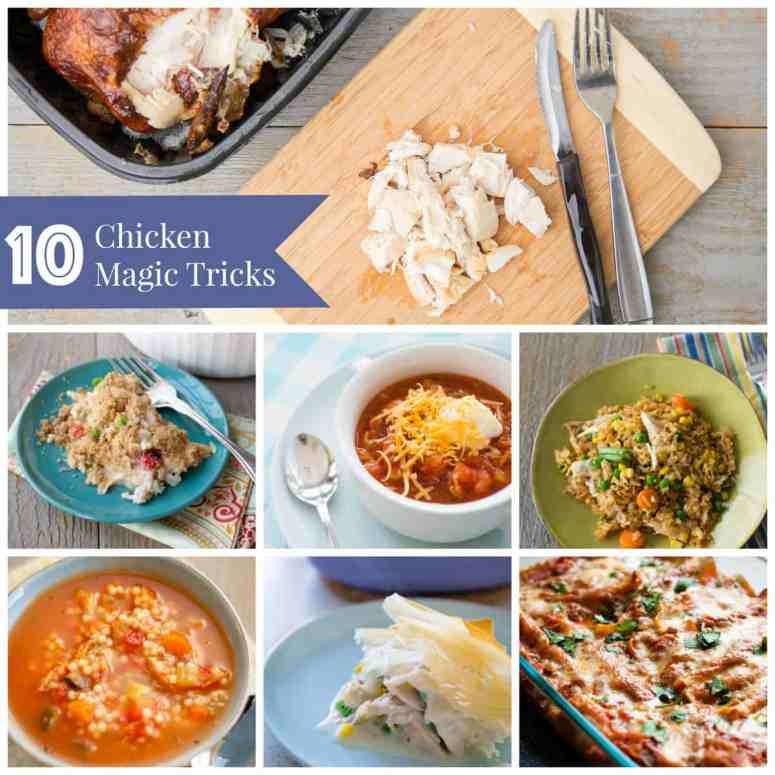 10 dinner recipes for using a rotisserie chicken