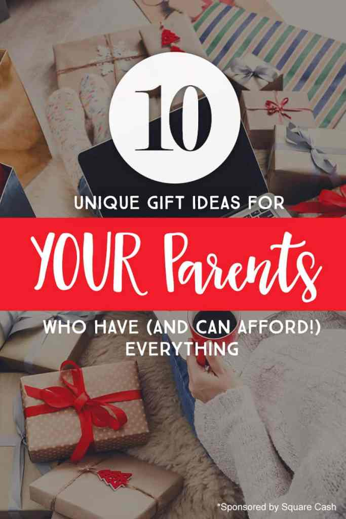 Unique gift ideas for parents who have everything *Loving this list of  suggestions - 10 Unique Gift Ideas For YOUR Parents -- Who Have (And Can Afford