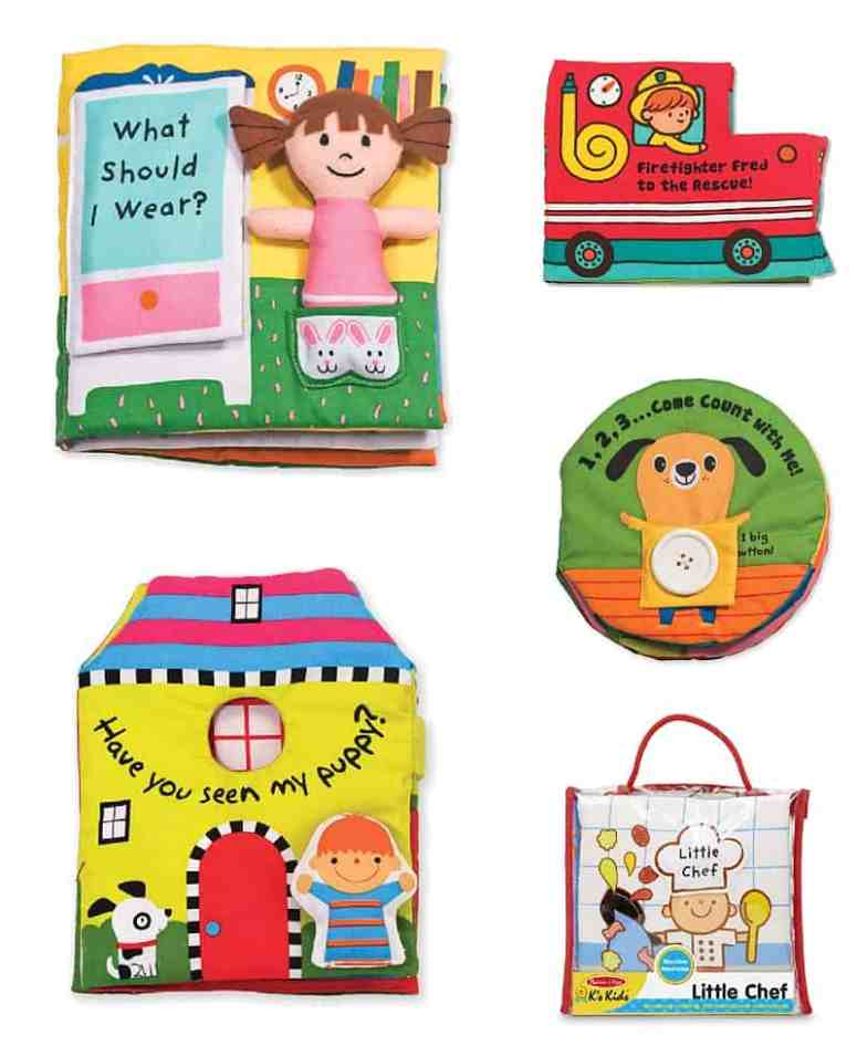 These baby books from Melissa & Doug are great hospital donation. *Great list of tips