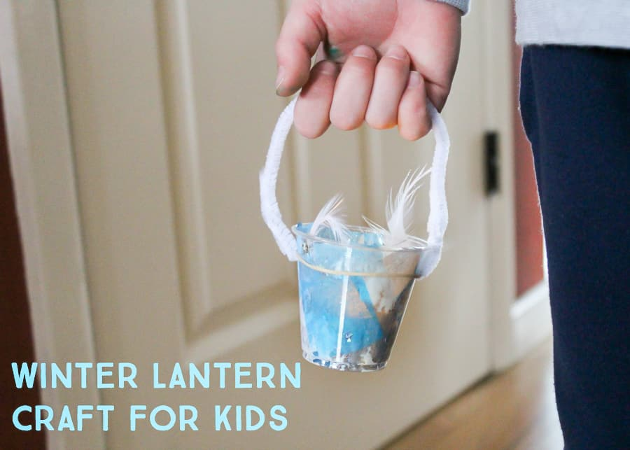 Easy Winter Lantern Craft For Kids Lasso The Moon